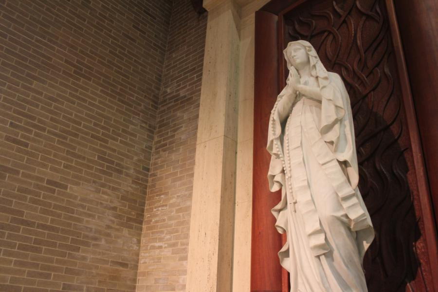 The Immaculate Conception Statue