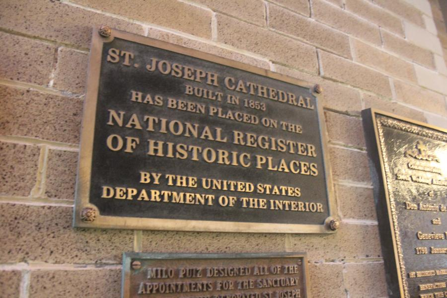 Historical Register Plaque