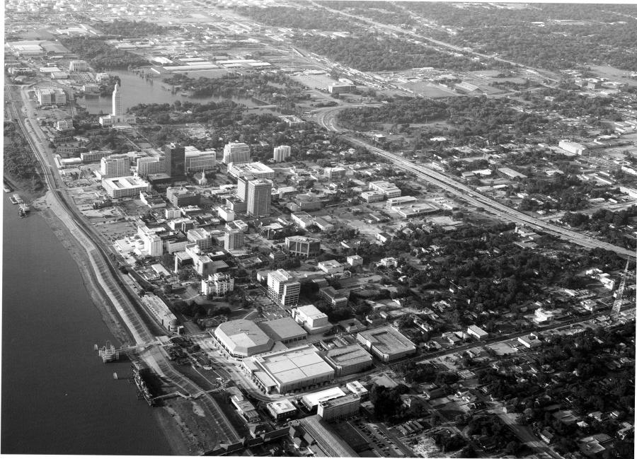 Downtown Baton Rouge in 2004