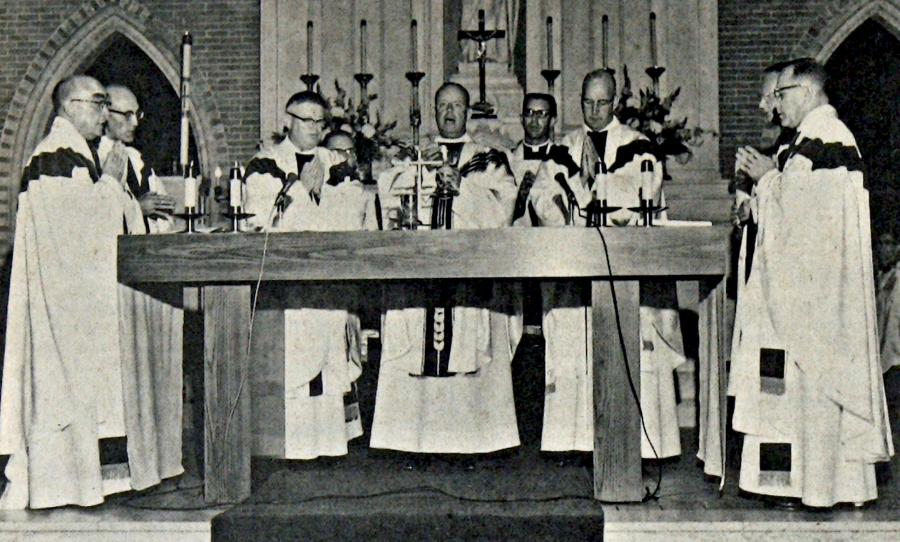 Church Anniversary Mass, 1965