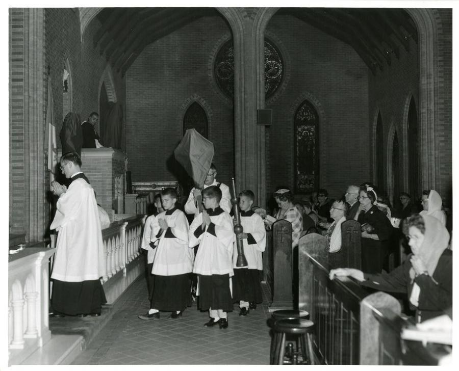 Good Friday Mass 1962