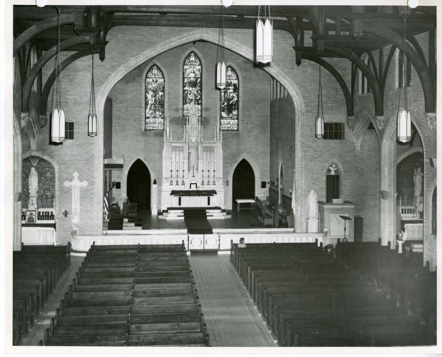 Interior before renovations