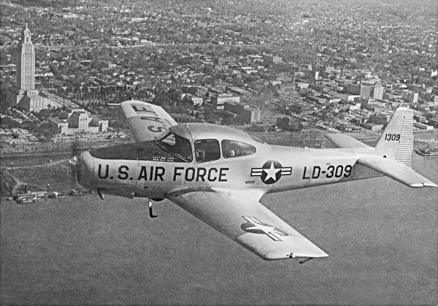 LSU Air Force ROTC, 1959