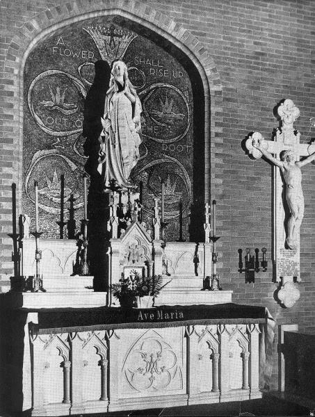 View of the Old Side Altar