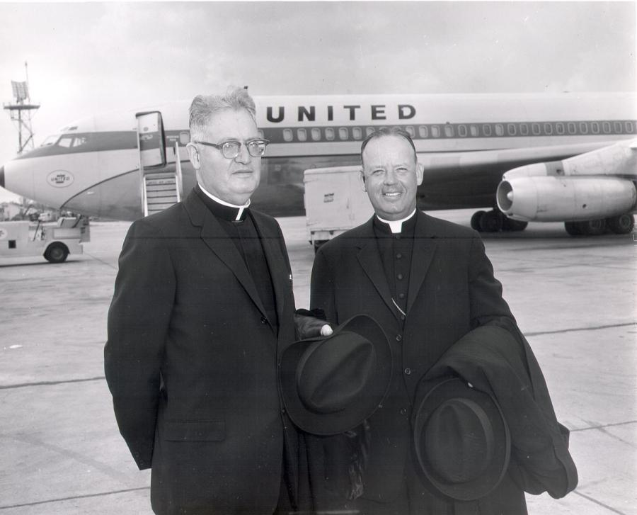 Tracey and Gillespie going to the Vatican in 1962