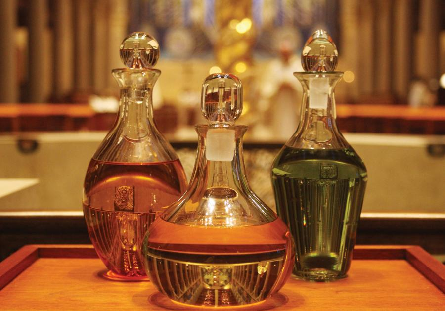 The Holy Oils of the Catholic Church